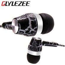 Micrphone glylezee трещины веревку бас музыка наушников стерео мобильного наушники ткань