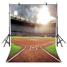 5x7ft Stadium Backdrop Sunshine Boiling Hot Blood Photography Background and Studio Props