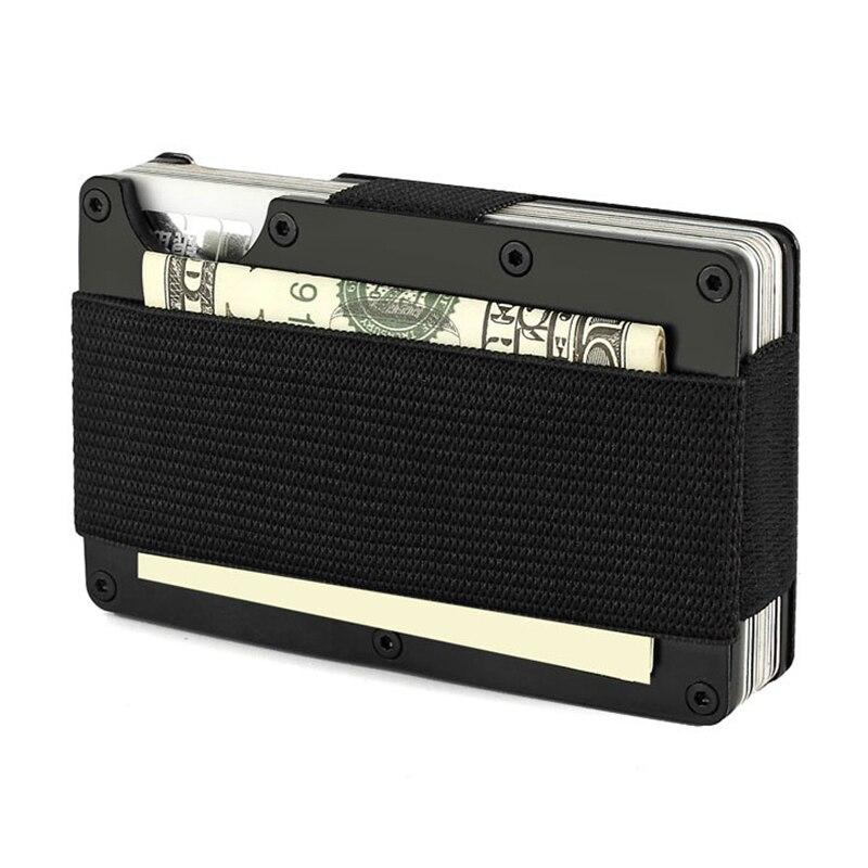 6e44cc56a6 Artmi Carbon Fiber Κάτοχος Πιστωτικής Κάρτας Άνδρας Πορτοφόλι RFID ...