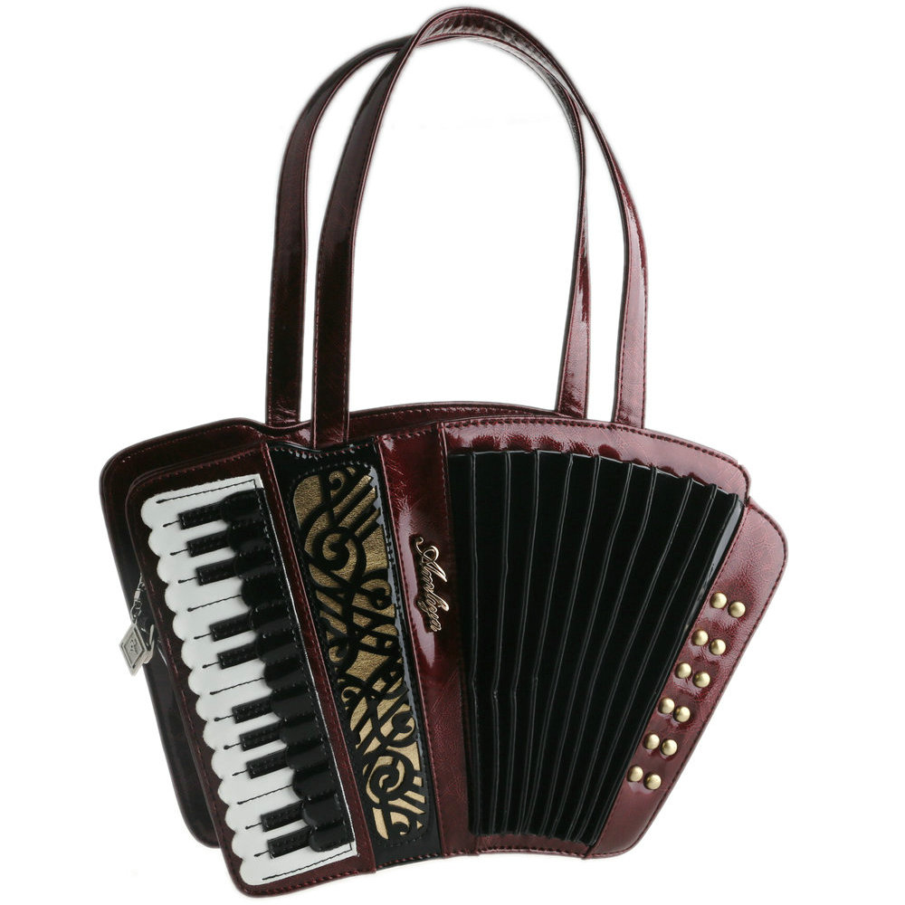Women S Vintage Accordion Bag Musician Handbag Party Concert Use Novelty Trong Music Purse Usa Accordionist Recommended In Shoulder Bags From Luggage