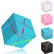 Portable Mini Bluetooth Speaker LED 3W Stereo Sound Box Mp3 Player Subwoofer Speakers Built-in 500mAh Battery