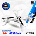FY530 Aircraft! 4-CH 2.4GHz Radio Control RC Quadcopter with 6-Axis Gyro RTF Drone Gifts for Kids 360 Degree