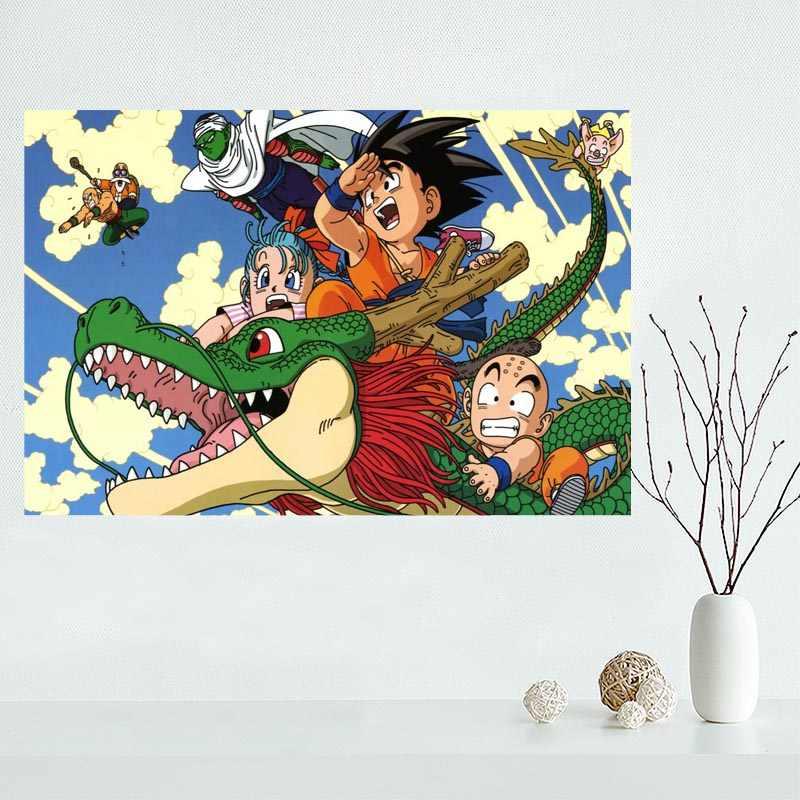 Nice Dragon Ball Z Poster Custom Canvas Poster Art Home Decoration Cloth Fabric Wall Poster Print Silk Fabric Poster Custom Custom Canvasposter Print Aliexpress