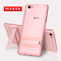 Brand New 3D Kickstand Mobile Phone Case OPPO R9s 5 5 Case Hybrid Cover TPU PC