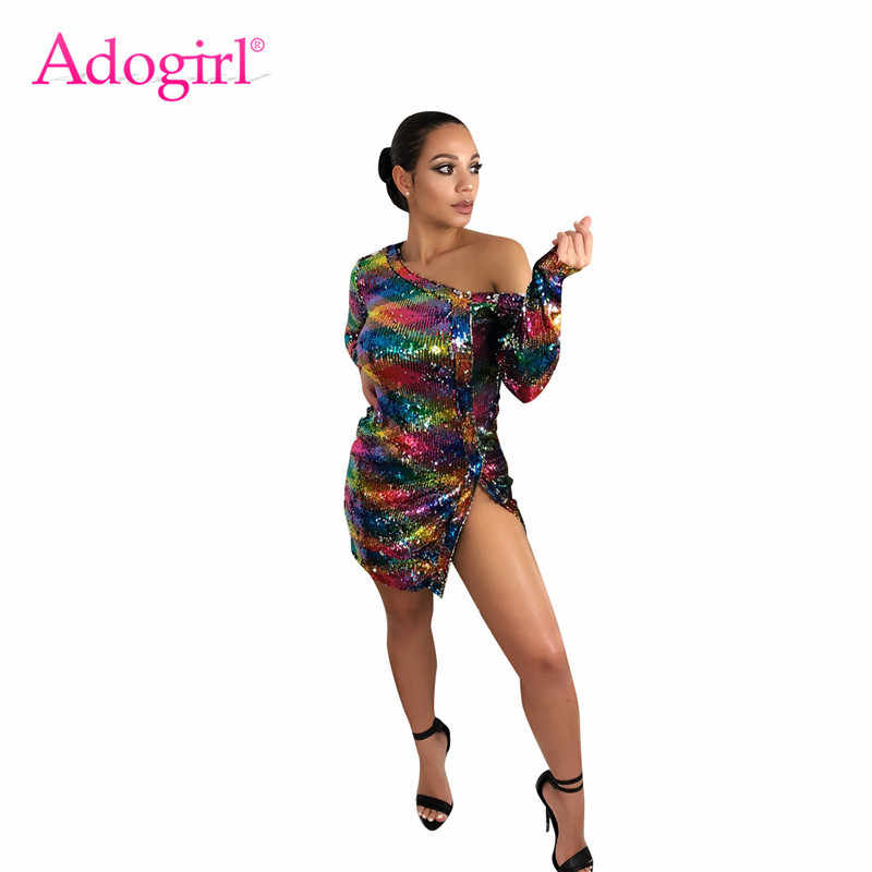 ce9869e59e Detail Feedback Questions about Adogirl Sparkle Colorful Sequins ...