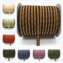 """5 ярдов 3/""""(10 мм) бархатная лента для украшения свадебной вечеринки лента ручной работы подарочная упаковка бантик для волос DIY Рождественская лента# RD02"""