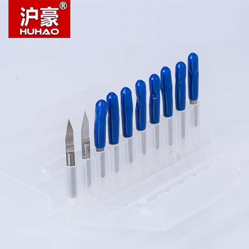 10pcs/lot 3.175mm CNC Router Bit Degree 25 30 40 PCB Engraving Bits End Mill Carbide 0.1-0.3mm Milling Cutter Machine Accessorie