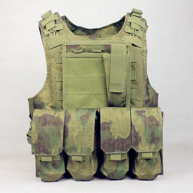 Vest militar Molle Tactical Vest Ventilatoare armate veste amfibii - Imbracaminte sport si accesorii