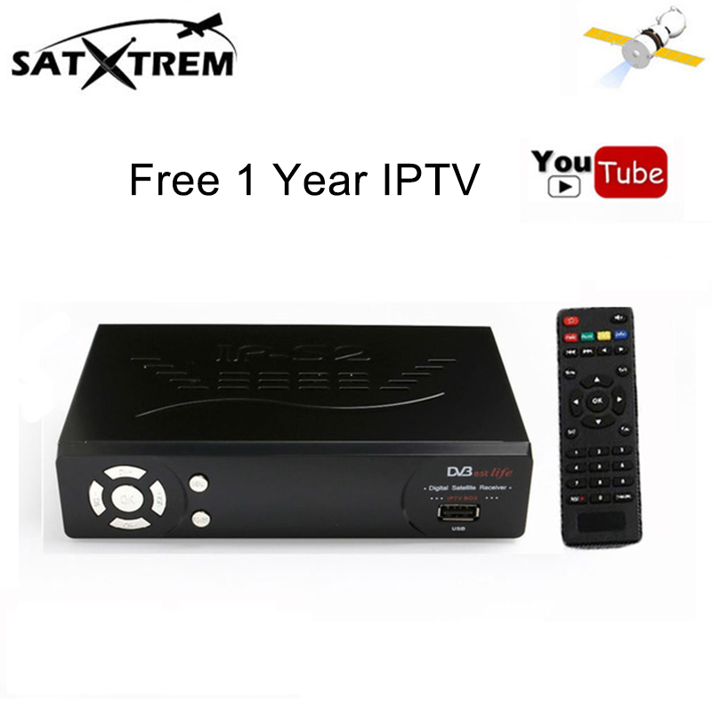 Free 1 Year Europe IPTV Server HD IPS2 Plus DVB-S2 Satellite Receiver Full 1080P Italy Frech Arabic IPTV Support Cccam cline godox 250 studio flash set softbox photographic equipment