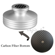 Carbon Fiber Bottom Abum LP Record Clamp Disc Stabilizer Record Weight Super Nice Design 334g