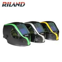 RILAND X9000 Auto Darkening MIG MMA Electric Welding Mask/Helmet/Welding Lens for Welding Machine or Plasma Cutter
