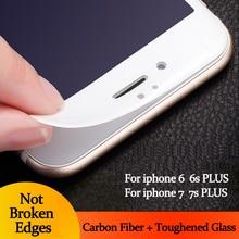 1 шт. 3D Изогнутый Край Полное Покрытие Из Закаленного Стекла для Iphone 6 s 6 S Плюс Премиум Протектор Экрана Закаленное Стекло Защитная фильм