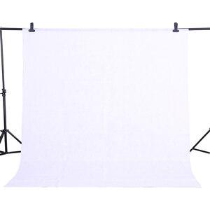 Image 2 - CYขายร้อนสีขาว1.6x2เมตรผ้าฝ้ายไม่สารมลพิษสิ่งทอมัสลินภาพพื้นหลังสตูดิโอถ่ายภาพหน้าจอC Hromakeyฉากหลังผ้า