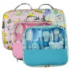 Милый набор для ухода за новорожденным, термометр, щетка для ухода за ребенком, набор для ухода за новорожденным, многофункциональный детск...