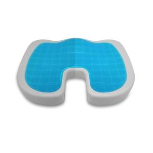 Image 2 - U צורת סיליקון ג ל כרית לעבות ריפוד זיכרון קצף רך כרית קיץ מגניב כיסא כרית מושב מחצלת