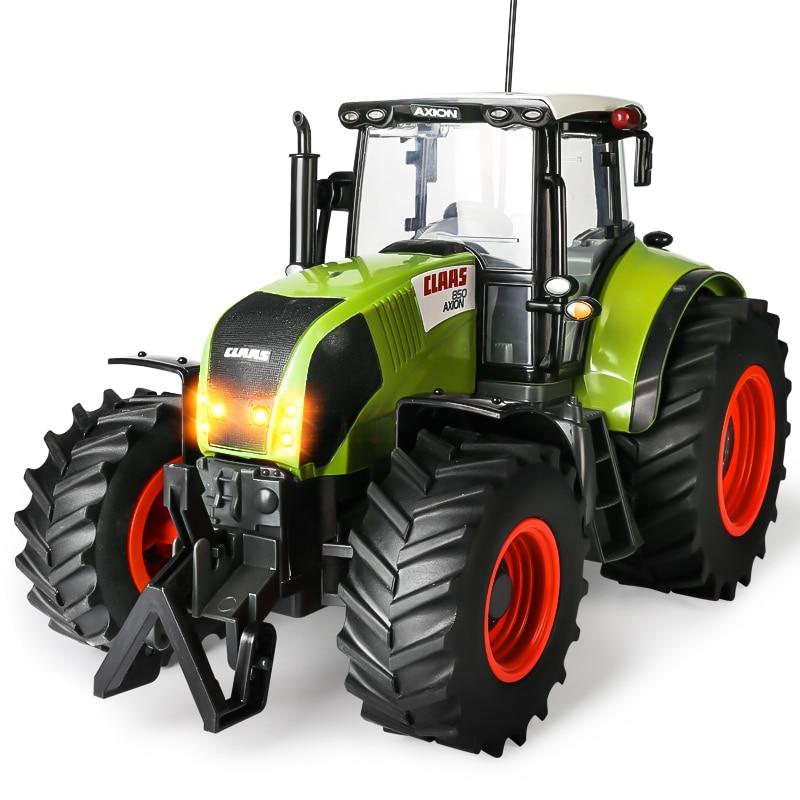 1:16 RC Truck Trailer Remote Control Tractor 4 Wheel Farm ...