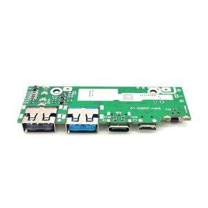 Image 3 - Быстрая зарядка 3,0 запасная часть внешнего аккумулятора PD3.0 литий ионная батарея Pcba печатная плата PCB 5 в 2 а 9 в 2 а 12 в а модуль бустера USB
