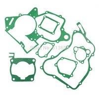 For Honda CR125R CR125 R 1990 1998 Engine Gasket Kit Cylinder Base Crankcase Cover Exhaust Gaskets Set Dirt Bike Rebuild Part