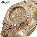 Кварцевые женские часы MISSFOX Miss Fox  наручные часы из нержавеющей стали  модные водонепроницаемые часы для женщин