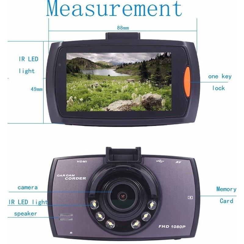"Boqueron Car Camera G30 Full HD 1080P 2.7"" Car Dvr Recorder Motion Detection Night Vision G-Sensor 32GB Dvrs Dash Cam Black Box"