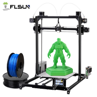 Shipping to German Flsun I3 DIY 3D Printer kit Large Printing Area 300*300*420mm Open Build Aluminium