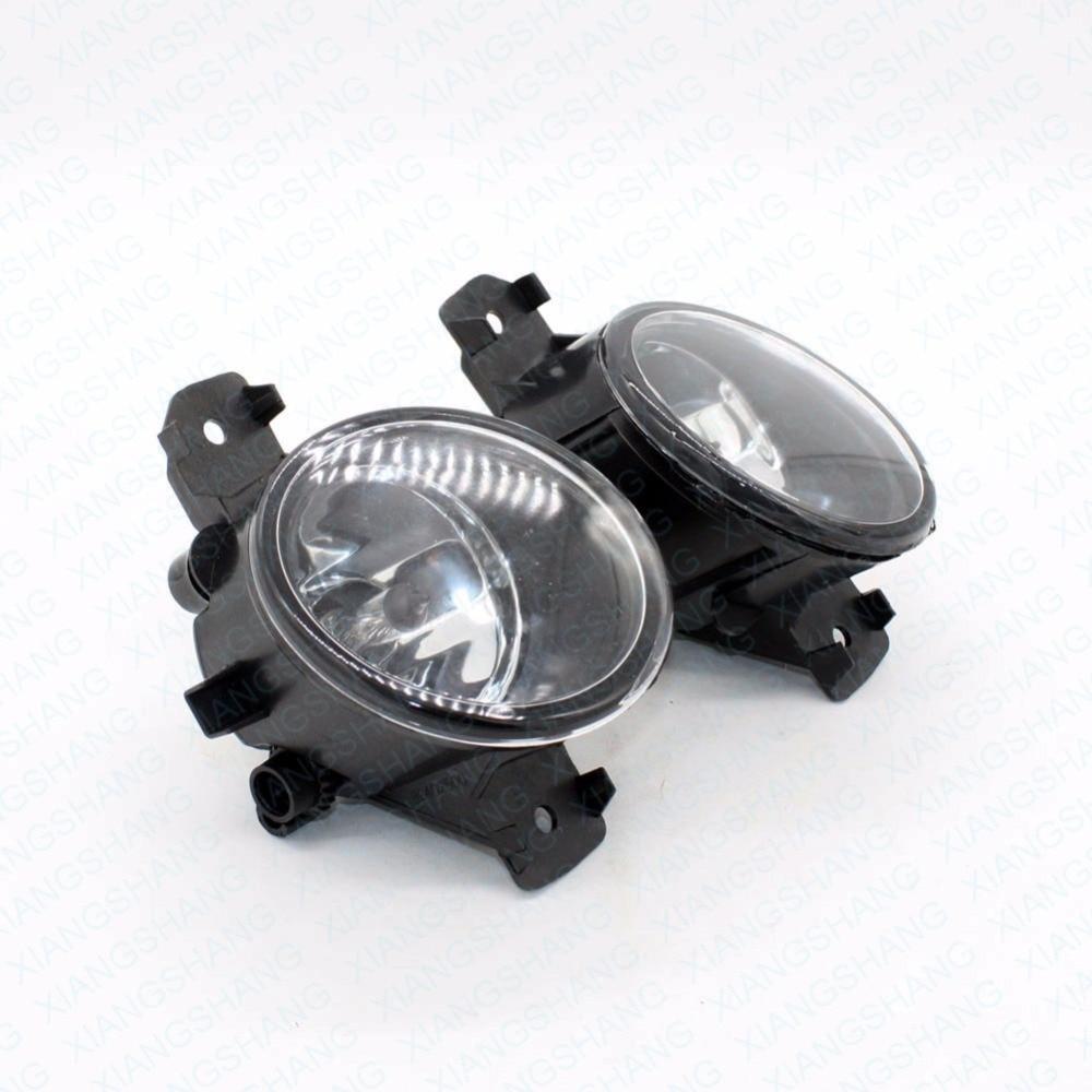 Front Fog Lights For NISSAN QASHQAI / QASHQAI +2 (J10, JJ10) 2007-2012 Auto bumper Lamp H11 Halogen Car Styling Light Bulb