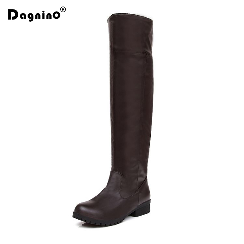 DAGNINIO  High Quality Attack On Titan Cosplay Knee High Boots Shingeki No Kyojin Eren Jaeger Ackerman Shoes Brown Black Type потребительские товары shingeki kyojin