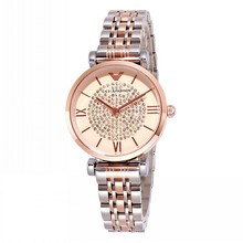 цена на Super Cool Rhinestone Women Watches Women Rose Gold Dress Watch Stainless Steel Crystal Ladies Watch Woman Quartz Wrist Watches