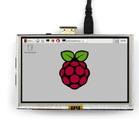 New 7 Inch Capacitive 5 Point Touch Screen 800x480 Tft Lcd Display Hdmi Module For Raspberry Pi Support Various Systems