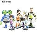 Anime Cartoon Millas De Tomorrowland Figuras PVC Modelo Juguetes Para Niños Juguetes Regalos 6 unids/set DSFG280