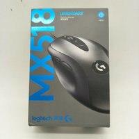 4pcs Logitech MX518 16000DPI Classic Gaming mouse