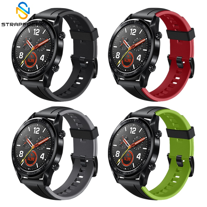 Wrist Strap For Huawei Watch GT Band Strap Fashion Silicone Watchband For Huawei Honor Watch Magic Smart Watch Bracelet Band