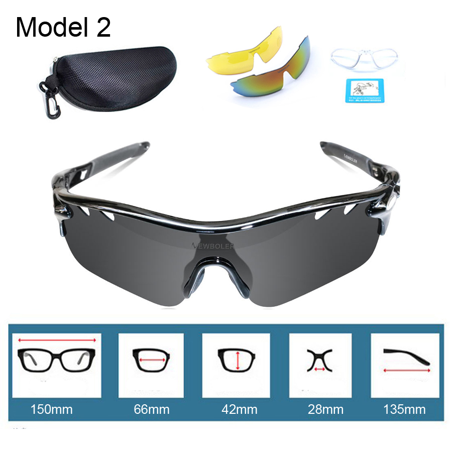 NEWBOLER Professional Myopia Polarized Fishing Glasses Men ...