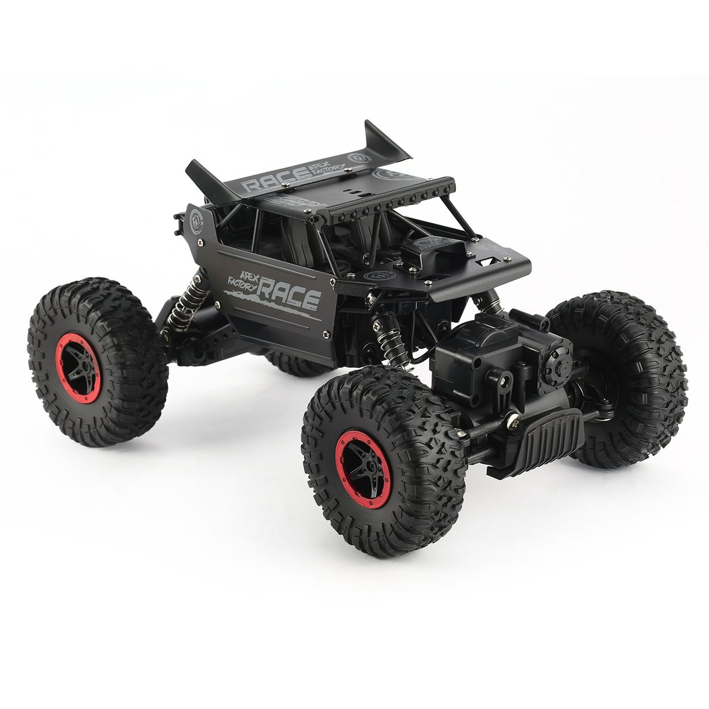 RC Speed Racing Car 9118 1/18 2.4G 4WD Alloy Off Road 35 km/h RC Climbing Car Rock Crawler Climber Remote Control Vehicle Toy