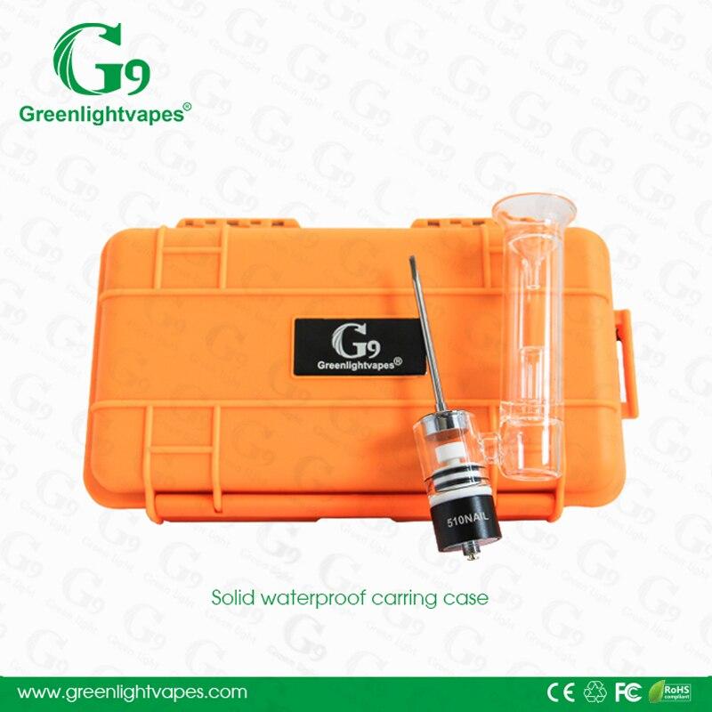 G9 510 ongles en céramique Quartz chambre tasse cire huile concentrés Dab solide étanche boîtier vapeur fit 510 fil boîte Mod 18650 batterie