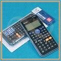 Novo PARA Deli DL-D82ES D82ES Calculatrice função Cálculos de estudante do Ensino médio/Estudantes exame/exame/Calculadora