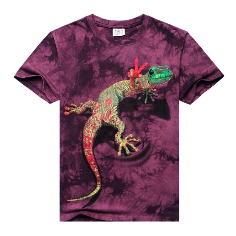 2017 summer Men s brand clothing short sleeve font b animal b font T shirt gas