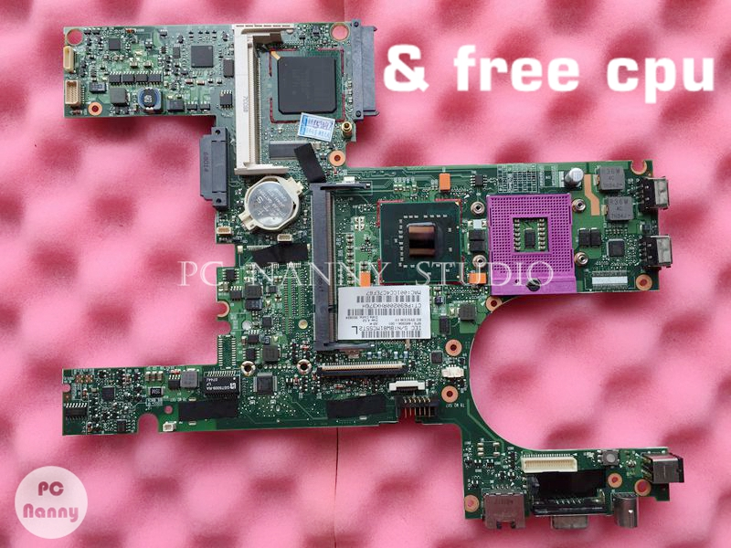 NOKOTION 446904 001 Mainboard for HP Compaq 6510b laptop motherboard Intel GMA X3100 DDRII GM965 free