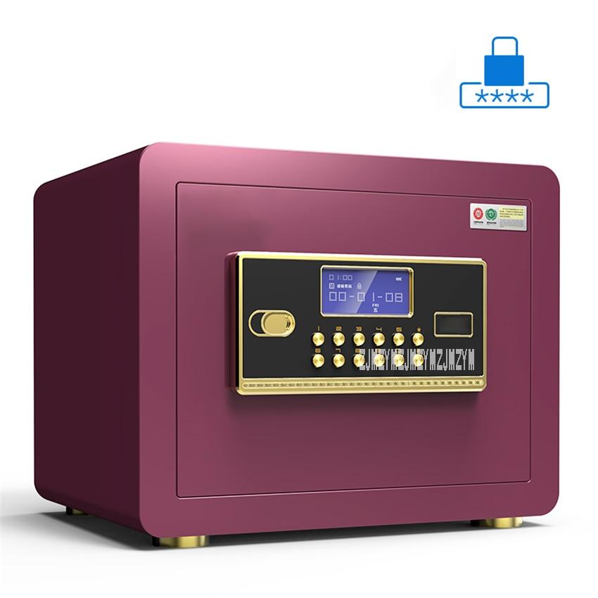 Coffre-fort numérique sécurité BGX-25 mot de passe Anti-vol d'empreintes digitales mot de passe Invisible bijoux de bureau avec serrure armoire d'alarme