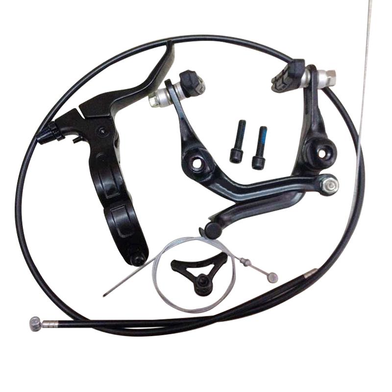 2018 new BMX brake (folding) right brake handle full set after the line clamp bicycle parts BMX parts V-brake U-brake SCJ009