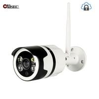 IP66 Waterproof camera 720P cloud storage auto tracking wifi ip camera sound and light alarm wireless security camera