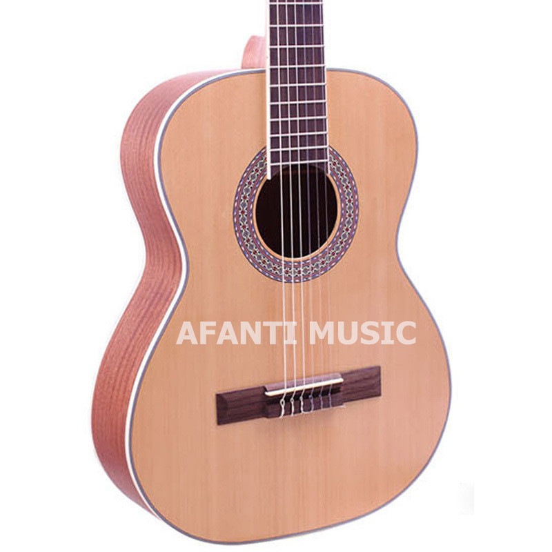36 inch Burlywood color classical guitar of Afanti Music (ASG-111) цена