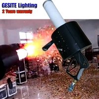 led co2 Cannon Confetti Machine For DJ Stage effect