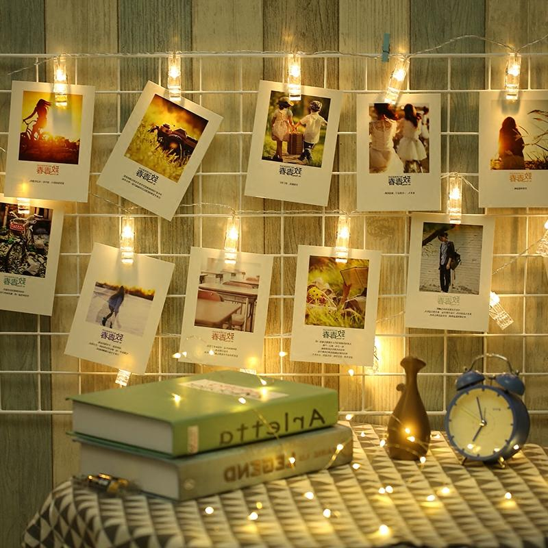 1.5M/3M/6M Card Photo Clip Lights Sting Lamp Party Wedding Home Decoration room decorati ...
