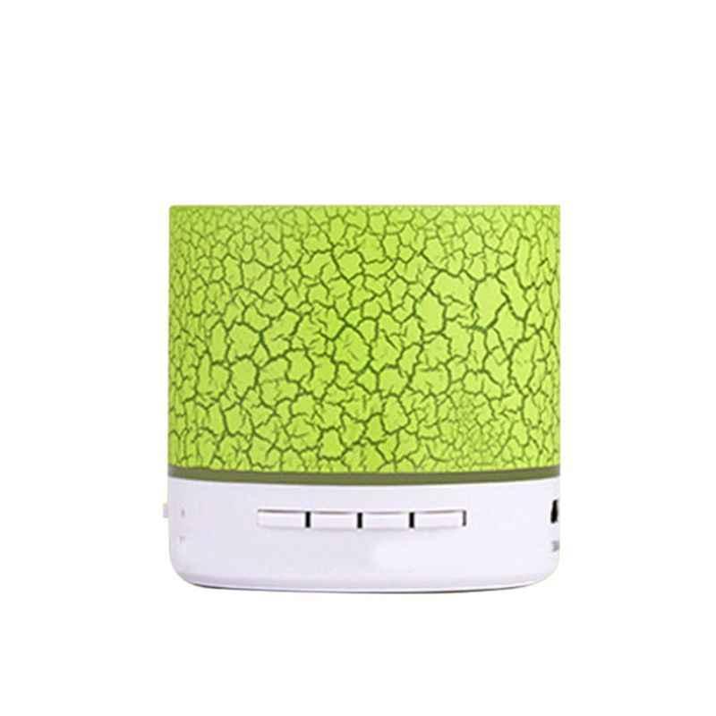 A9 głośnik Bluetooth Mini głośnik bezprzewodowy Crack LED tf usb Subwoofer głośniki z Bluetooth mp3 stereo odtwarzacz muzyki audio