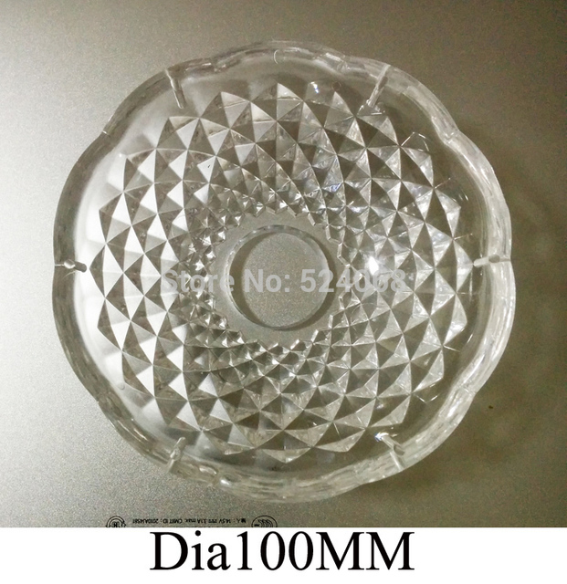 30pcs Lot Dia100mm Acrylic Crystal Bobeche Clear Color With Pins Wedding