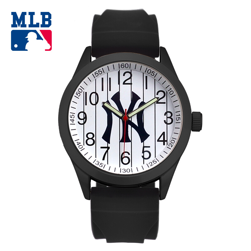 MLB time square fashion sport lover' watch big face waterproof wristwatch silicone band quartz for men and women watches SD014 mlb time square series fashion sport couple watch waterproof wristwatch leather band quartz watch for men and women sd008