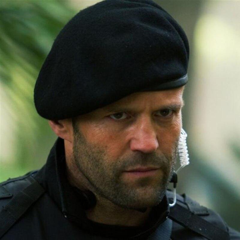 e1d98a69a7373 De calidad superior de las Fuerzas Especiales Boinas militares gorras para  hombre del ejército de lana sombrero al aire libre respirable soldado  Formación ...