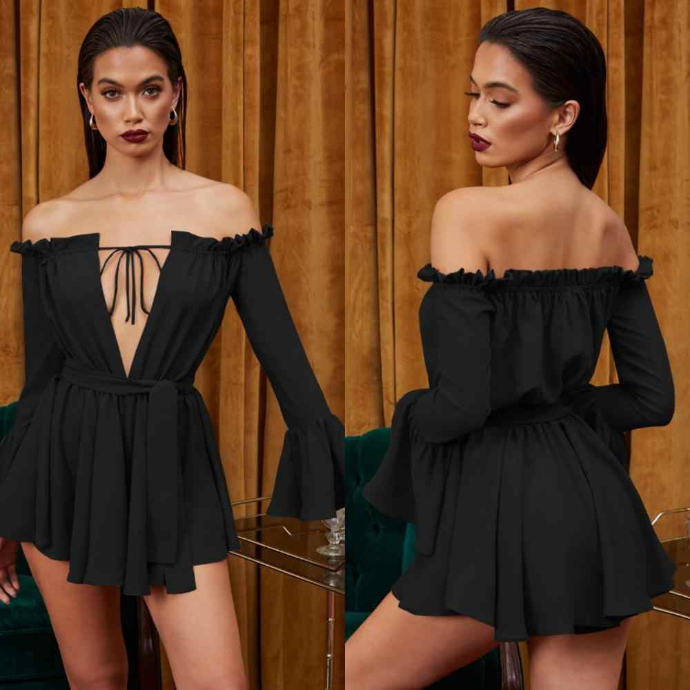 Elegant Women Mini Dress Spring Autumn Long Sleeve Dress Female Bandage Patchwork Robe Casual Vestidos Women Sexy Party Dress