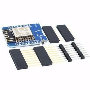 Image 4 - 100pcs D1 mini  Mini NodeMcu 4M bytes Lua WIFI Internet of Things development board based ESP8266
